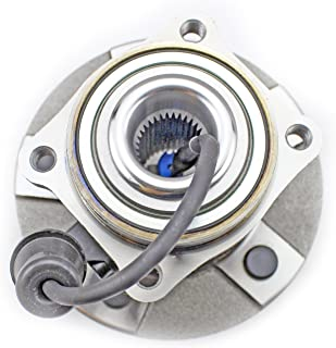 CRS NT512229 New Wheel Bearing Hub Assembly, Rear Left (Driver)/ Right (Passenger), for 2005-2006 Chevy Equinox, 2006 Pontiac Torrent, 2002-2007 Saturn Vue, w/ABS