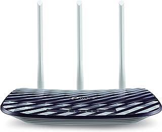 TP-Link Archer C20 Router Wi-Fi de Banda Dual Inalámbrico AC750 con Multimodo: Router WiFi/Repetidor unto de Acceso, 300Mb...