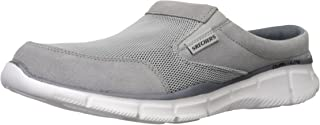 Skechers Men's Equalizer Coast to Coast Mule, Grey, 6.5 UK