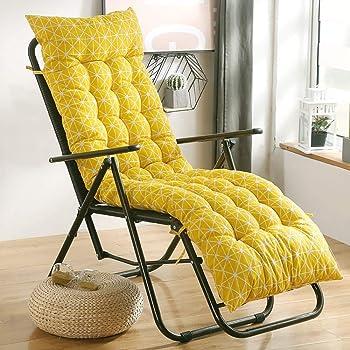 BAOFUL Materassino per Sdraio Cuscino da Giardino Reclinabile Cuscino per Mobili Cuscino Reclinabile per Esterni Cuscino da Giardino Reclinabile 170 8 Cm Sedie Escluse 53