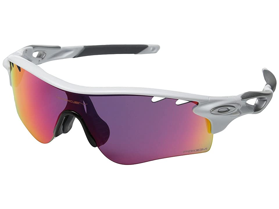 Oakley Radarlock Path (Polished White/Prizm Road) Sport Sunglasses