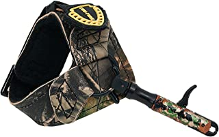 TruFire Edge Buckle Foldback Adjustable Archery Compound Bow Release - Wrist Strap with Foldback Design - Black or Camo