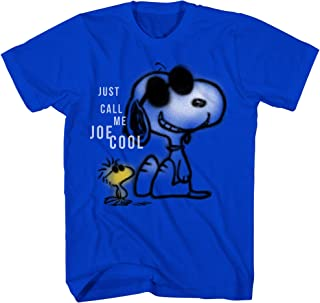 Peanuts Snoopy DIY Overlay Charlie Brown Cartoon Vintage Classic Retro Graphic Funny Men's T-Shirt