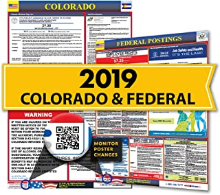 Osha4less 2019 Colorado State & Federal Labor Law Posters