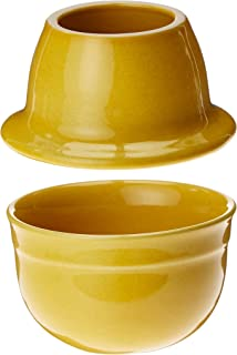 Emile Henry Made In France HR Modern Classics Butter Pot, Yellow