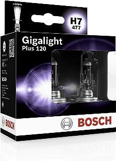 Bosch Lampes Gigalight Plus 120 H7 12V 55W (Ampoule x2)