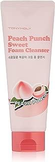 TONYMOLY Peach Punch Sweet Foam Cleanser, 5 Fl Oz