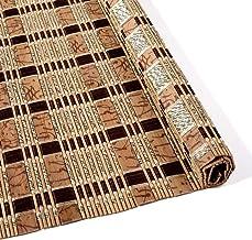 ZAQI Estores enrollables Persianas enrollables Gazebo Corridor, Persianas enrollables for Exteriores de Porche de bambú, Impermeable a Prueba de Moho, 50/80/110/120/130 cm de Ancho (Size : 50×50cm)