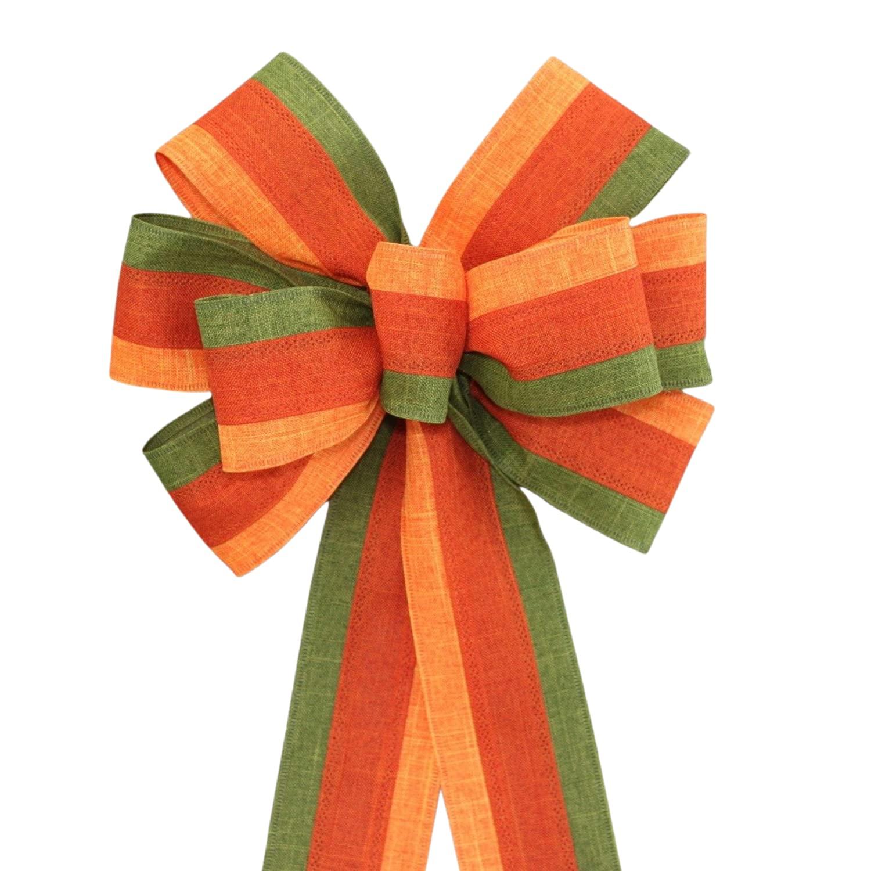 Festive Fall Rustic Wreath Bow