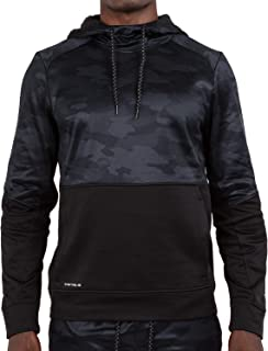 Men's Hoodie Performance Light Weight Training Tech Fleece Athletic Sweatshirt