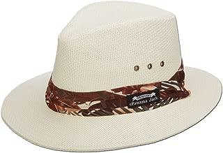 Woven Matte Toyo Safari Hat, UPF 50+ UVA/UVB Sun Protection, 2 1/2
