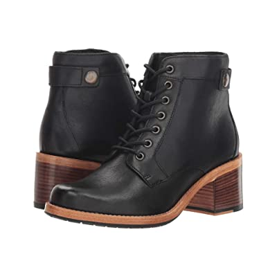 Clarks Clarkdale Tone (Black Leather) Women