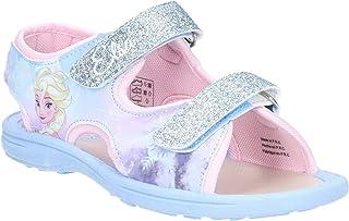Leomil Girls Frozen Touch Fastening Sandal