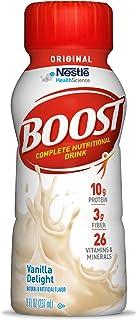 Boost Original Complete Nutritional Drink, Vanilla Delight, 8 fl oz Bottle