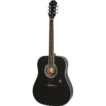 Epiphone FT-100 Acoustic Guitar, Ebony