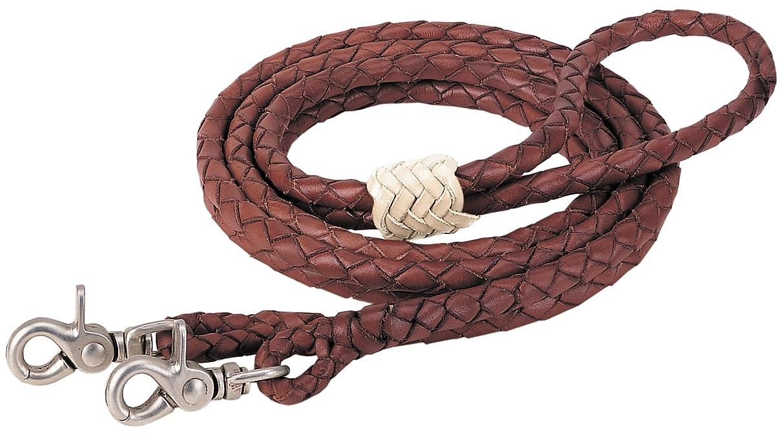 Weaver Leather Round Braided Latigo Roper Rein