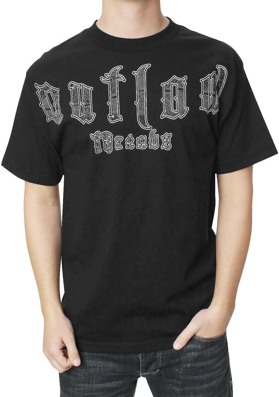 高品質 Outlaw Threadz Men's T-Shirt Finger 日本限定