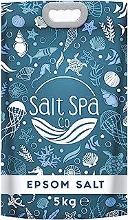 Sal Epsom ULTRA PURA | Sales de baño 5KG | Salt Spa Co | Alivia los músculos cansados y doloridos | Desintoxica, cura y promueve un sueño profundo y reparador