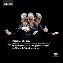 Brahms: Serenade No. 1 & Variations on a Theme by Haydn
