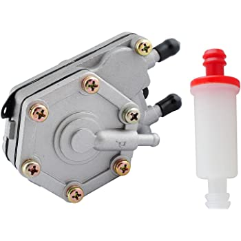 Amazon.com: Podoy 2520227 Fuel Pump for Compatible with Polaris with  2530009 Small Inline Fuel Filter Sportsman 325 400 500 600 700 6X6  (1996-2010): Garden & OutdoorAmazon.com