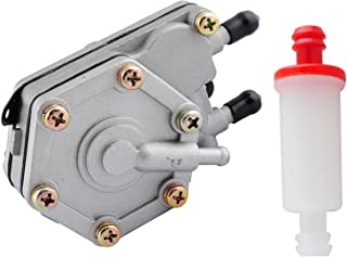 Podoy 2520227 Fuel Pump for Polaris with 2530009 Small Inline Fuel Filter Sportsman 325 400 500 600 700 6X6 (1996-2010)