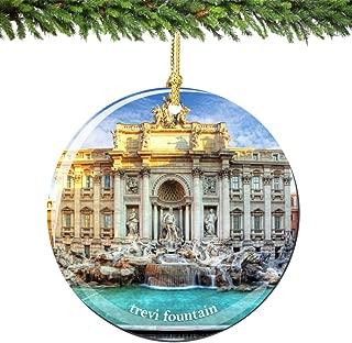 trevi fountain ornament
