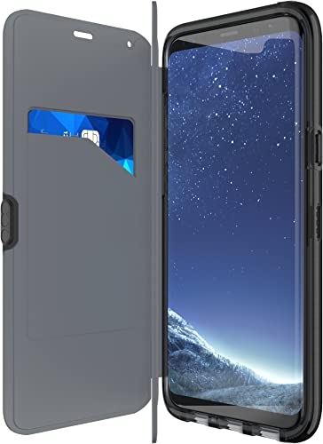 popular tech21 - Phone Case high quality 2021 Compatible with Samsung Galaxy S8+ - Evo Wallet - Black outlet sale