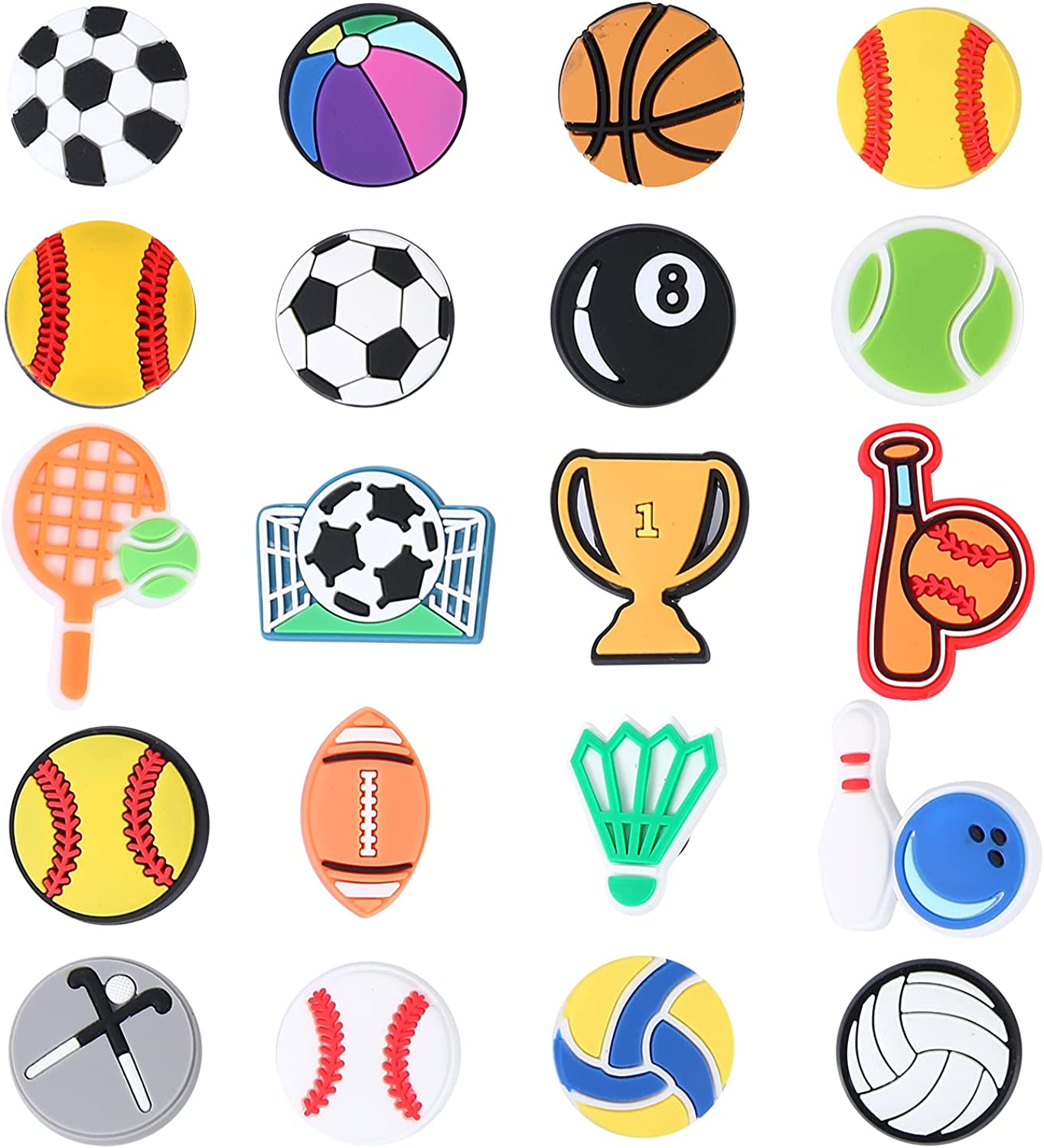 Crocs Charms for Men Women Boys Fans Football Challenge the Special price for a limited time lowest price of Japan and Basketball Sp