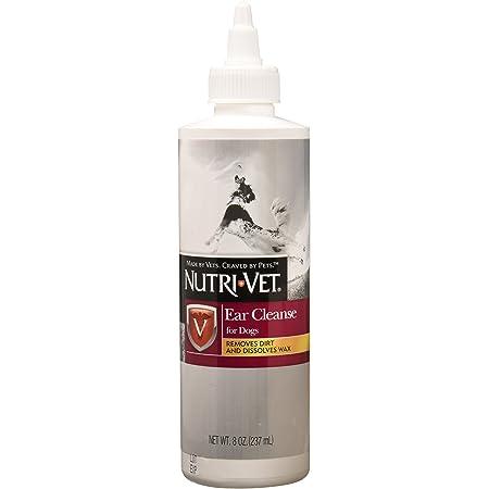 Nutri-Vet Ear Cleanse for Dogs   Cleans & Deodorizes   8 Ounces