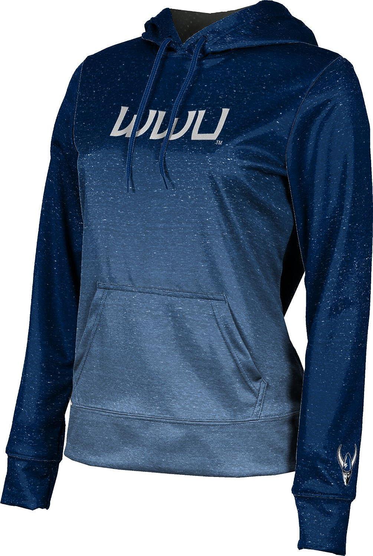 ProSphere Western Washington University Girls' Pullover Hoodie, School Spirit Sweatshirt (Gradient)