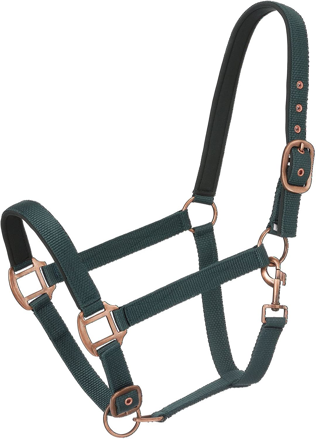 Tough 1 Tough1 Neoprene Padded Halter Antique Hardware