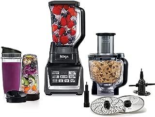 Nutri Ninja Mega 1200 Watts Kitchen System, Blending and Food Processing, 1 Base 2 Functions Auto-iQ Technology