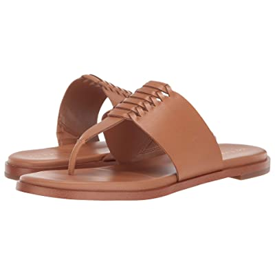 Cole Haan Felix Grand Thong Sandal (Pecan Leather) Women