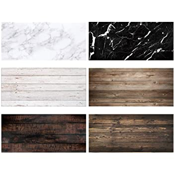 8x12 FT Marble Vinyl Photography Background Backdrops,Nostalgic Marble Stone Mosaic Regular Design with Alluring Elements Artwork Print Background for Selfie Birthday Party Pictures Photo Booth Shoot