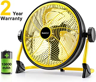 outdoor battery fan