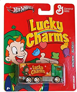 HIWAY HAULER * LUCKY CHARMS * Hot Wheels General Mills Cereal 2011 Nostalgia Series 1:64 Scale Die-Cast Vehicle