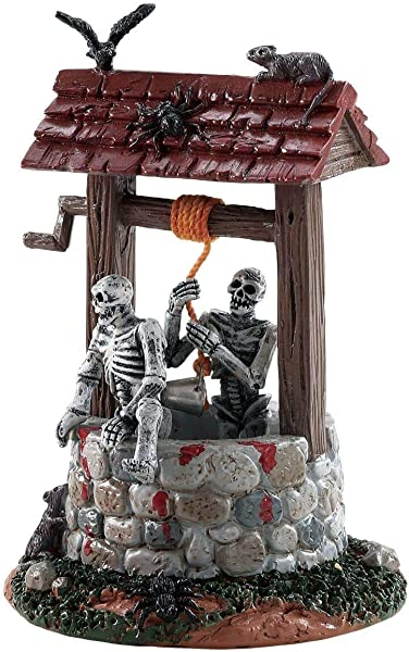 Lemax Spooky Town Ghouls In Well Table Piece 83341