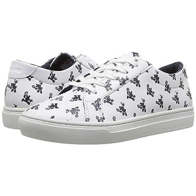 Lacoste Kids L.12.12 (Little Kid) (Disney White/Navy) Kids Shoes
