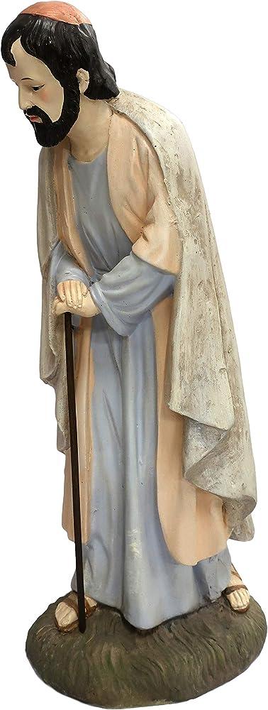 Ferrari & arrighetti statua del presepe: san giuseppe linea martino landi 50 cm 2450NA02
