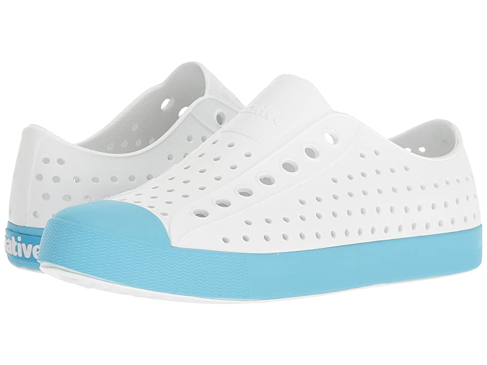 Native Shoes Jefferson (Shell White/Safari Blue) Shoes