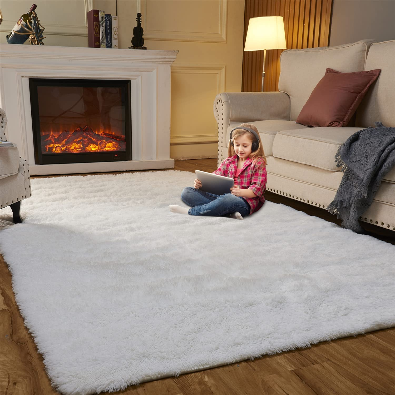 EasyJoy Ultra Soft Fluffy Area Rugs Bedroom free Room Living for Spring new work one after another Mod