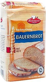 Bielmeier-Küchenmeister Brotbackmischung Bauernhof Roggenmischbrot, 15er Pack 15 x 500g