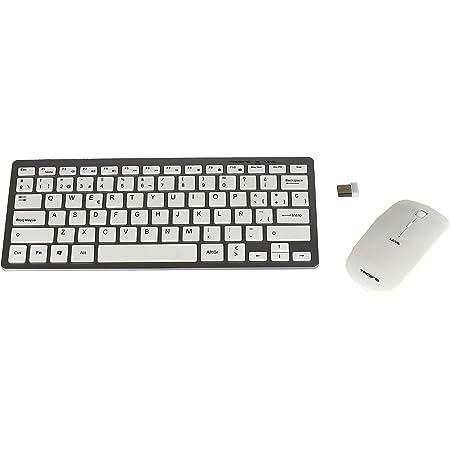 OMOTON Pack Teclado y Ratón inalámbrico Bluetooth Teclado ...