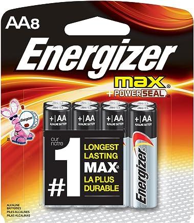 Energizer AA Batteries, Max Alkaline (8 Count)