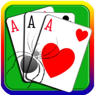 Classic Solitaire Games For Kindle Fire Tablet Easy Play Free Spider Solitaire Card Game HD Playing Popular Cards for adults pyramid Magic Freecell Domination Solve Puzzles Original Klondike Solitaire