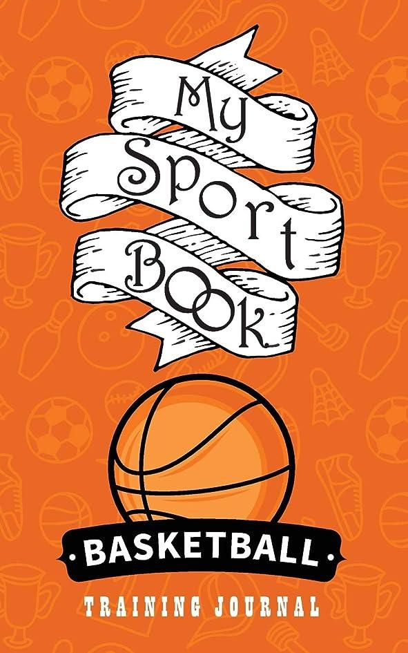 浅い音楽単独でMy sport book - Basketball training journal: 200 cream pages with 5