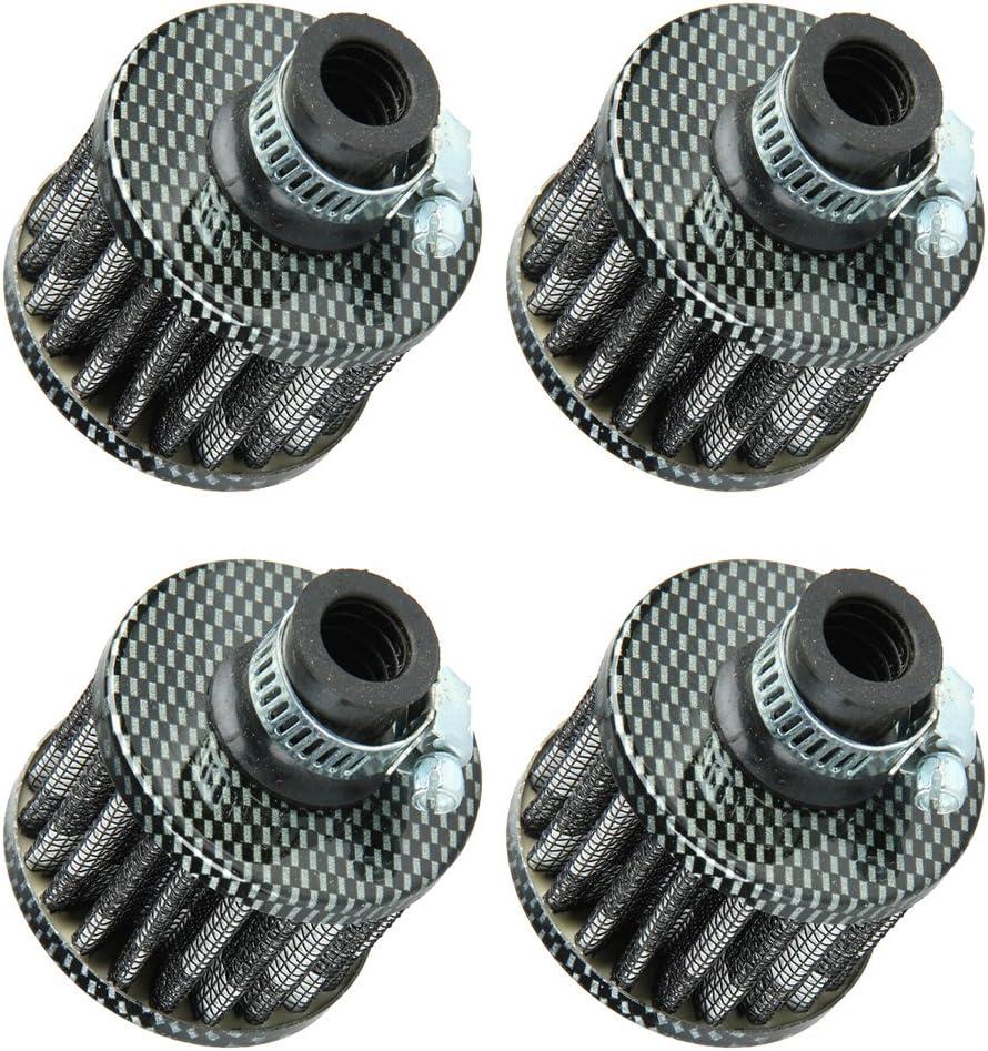 ESUPPORT 12mm New arrival Mini Carbon Fiber Universal Cl Max 54% OFF Cold Cone Car Motor