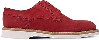 Deery Hakiki Süet Kırmızı Günlük Erkek Ayakkabı - 01294MKRME01