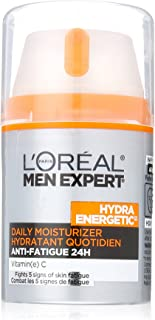 L'Oreal Paris Skin Care Men Expert Hydra Energetic Anti-Fatigue Daily Moisturizer, 1.6 Fluid Ounce