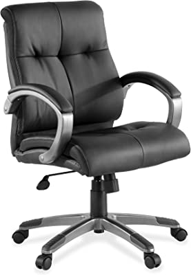 """Lorell Managerial Chair, 25.98"""" Height X 12.8"""" Width X 26.77"""" Length"""